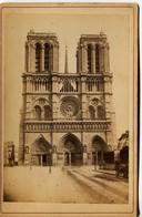 13274  Photo  Bromure - Paris  :   NOTRE DAME DE PARIS    - Démolition Du Parvis  -  Photo De Ch.JOUY Paris -  Vers 1880 - Luoghi