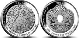 "HOLANDA  5€ SILVER / PLATA  2.018  2018  ""LEEUWARDEN  VIJFJE""  SC/UNC  T-DL-12.232 - Paises Bajos"