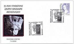 10.- ITALIA ITALY 2010. 20 YEARS OF FOUNDATION ARCHEOLOGICAL RAVENNATE GROUP - Arqueología