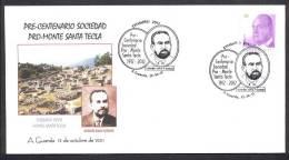 12.- ESPAÑA 2011. MATASELLO ESPECIAL. PRO-MONTE SANTA TECLA. POBLADO CELTA. CELTIC TOWN. ANTOLIN SILVA VICENTE - Arqueología