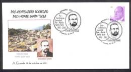 14.- ESPAÑA 2011. MATASELLO ESPECIAL. PRO-MONTE SANTA TECLA. POBLADO CELTA. CELTIC TOWN. ANTOLIN SILVA VICENTE - Arqueología