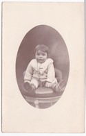 Ancienne Carte Photo Portrait Enfant - Personas Anónimos