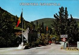 ! Ansichtskarte Grenze Frontera Espanyola, Andorra - Andorra
