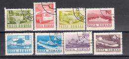 Lot 61 Romania  Transport 8 Different - 1948-.... Republiken