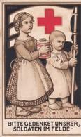 Rote Kreuz Bitte Gedenket Unsrer Soldaten Im Felden - Weltkrieg 1939-45