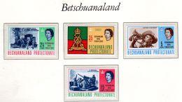1.6.1966; Königliches Betschuanaland-Pionierkorps, Mi-Nr. 185 - 188, Neu **, Los 50020 - Bechuanaland (...-1966)