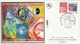 FDC - BLOC CNEP - SALON D'AUTOMNE  1998 - CNEP