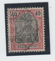 Germania , Plattenfehler Nr 60 XII Gestempelt ( 140.-) - Used Stamps
