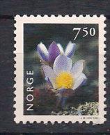 Norway Norge 1998  Flowers, Flora: Spring Pasque Flower (pulsatilla Vulgaris), Mi 1273 MNH(**) - Neufs
