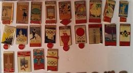 PINS COCA COLA (set De 22 Pins) - JEUX OLYMPIQUES D'ETE DE 1896 A 1992 - Coca-Cola
