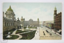 Postcard Northern Ireland - Donegal Square, Belfast - Lawrence Photo - W. E. Walton - Don - Antrim / Belfast