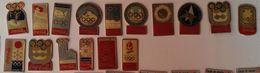 PINS COCA COLA (set De 16 Pins) - JEUX OLYMPIQUES D'HIVER DE 1924 A 1992 - Coca-Cola
