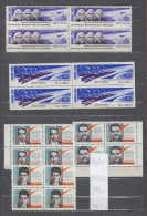 34K95 / 1964 Michel Nr. 2965-2969 ** MNH ,  Space Espace Raumfahrt  , Astronaut , Rocket , Russia Russie - Nuevos