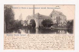BRANCHON ( Noville Taviers ) BRASSERIE Et MOULIN à VAPEUR - Circ. En 1903 - Ed. Théo Dock, Forville - Belgio