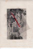 77- FONTAINEBLEAU - CHATEAU  - GRAVURE 1885 - Stiche & Gravuren