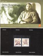 Norway 2004 Ottro Sverdrup - Folder With Mint Mi  1502-1503, MNH(**) - Norway