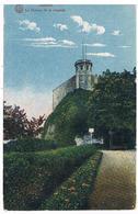 CPA Colorisée : NAMUR Citadelle Le Donjon - Tour Des Guetteurs Vue Du Bas - Namur