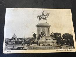 ROMA Monumento A G. Garibaldi - Kerken