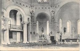 Cpa 49 Brain Sur Longuenée , Intérieur De L'église , écrite 1905 - France