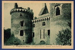 56 SARZEAU Presqu'île De Rhuys, Château De Suscinio, Façade Est, Entrée Pont-levis - Sarzeau