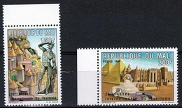 Mali 1994, Tourism, Mosque, Sfinge, 2val - Mali (1959-...)