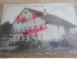 CPA Suisse Jura - LES ENFERS - Café 1909 Café De La Poste! - JU Jura