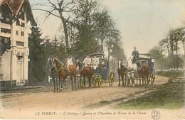 78 Le Perray Chasse à Courre Attelage Cheval Chevaux - Le Perray En Yvelines