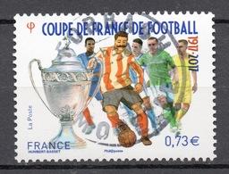 FRANCE 2017   - Timbre - Coupe De France De Football 1917- 2017 Oblitéré Cachet Rond - Gebraucht