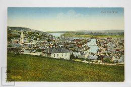 Postcard Ireland - Cork From West - General View - Valentine Series, Dublin - Cork
