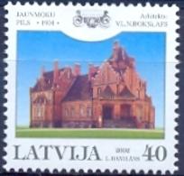 LV 2002-577 CASTELLO JANMOUKAS, LATVIA, 1v, MNH - Lettland