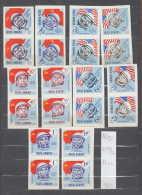 34K118 / 1964 Michel Nr. 2248-2257 ** MNH Space Espace Raumfahrt , Astronaut , Rocket FLAG , Romania Rumanien - 1948-.... Republics