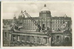 Berlin - Schloss - Dom - Nationaldenkmal - Foto-Ansichtskarte - Verlag I.W.B. - Mitte