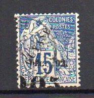 Guyane N° 29 Oblitéré (Alphée Dubois Surchargé) - Variété Surcharge Décalée Vers Le Bas - Cote 53€ - Guyane Française (1886-1949)