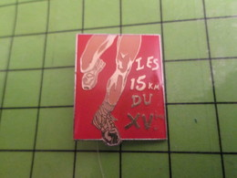 313K Pin's Pins / Beau Et Rare : Thème SPORTS / ATHLETISME LES 15 Km DU XVe - Athletics