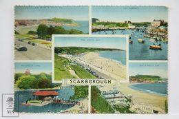 Postcard England - Views Of Scarborough - Collage - Dennis & Sons - Scarborough