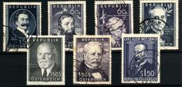 3621- Austria Nº 769, 785, 787, 791, 819, 829, 840 - 1850-1918 Imperium