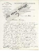 71 - Saône-et-loire - CLUNY - Facture DEVIF - Scierie, Commerce De Bois - 1911 - REF 103C - 1900 – 1949