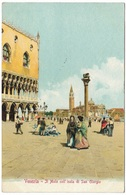 Venezia - Il Molo Coll'isola Di San Giorgio - 1903 - Ferd Gobbato - Venezia