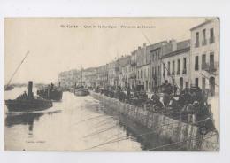 Sète - CETTE  - 1918 - Quai De La Bordigue - Pêcheurs De Dorades - CONCOURS ? - Animée - Sete (Cette)