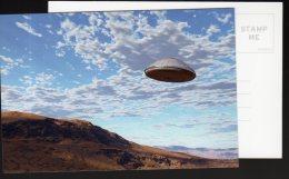 5473 - Ovni, Ufo, Soucoupe Volante ; Superbe Photo Sur Fond De Ciel Bleu - Autres