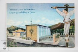 Postcard Japan - Committee For The Nagasaki Monument - 26 Martys Of Japan - Japón