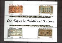 M24 - Wallis Et Futuna - BF 10** De 2001 - Artisanat Local : LES TAPAS - - Neufs
