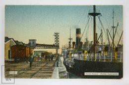Postcard Argentina - Puerto Rosario, Muelles De Exportación - Rosario Port & Exportation Docks - Year 1921 - Argentina