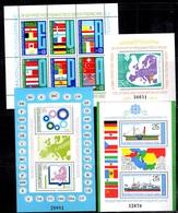 Bulgarie Bloc-feuillets YT N° 91A, N° 95C, N° 98B Et N° 103B Neufs ** MNH. TB. A Saisir! - Blocks & Kleinbögen