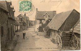 CPA - Vieux CABOURG (14) - Aspect De La Rue Du Commerce En 1907 - Cabourg