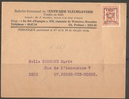 België 1947 - Typos 1936-51 (Petit Sceau)
