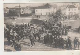 VILVORDE  Carte Photo- Deutsche Truppen Auf Dem Wege Von Antwerpen Nach Gent - Trouppe Allemande - Vilvoorde