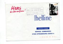 Lettre Flamme Niort Securite Voiture - Postmark Collection (Covers)