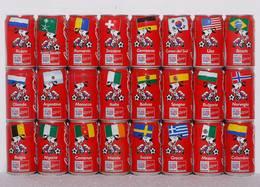 CAN-ITALIE-1994-WORLD CUP USA 1994 (set De 24 Cans) - Latas