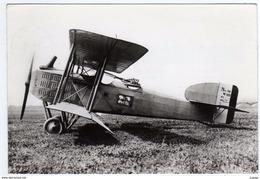 "AVIATION (Guerre 1914-1918) France Biplan""Bréguet XIV""    Carte Photo  PUB Transfusine  TBE - 1914-1918: 1st War"